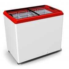 Морозильный ларь с прямым стеклом JUKA M300P