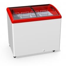 Морозильна скриня з гнутим склом JUKA M300S