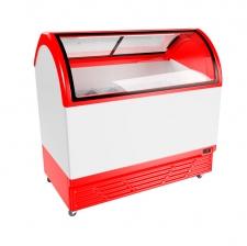 Морозильна вітрина для продажу вагового морозива JUKA M400Q