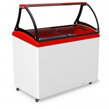 Морозильна вітрина для продажу вагового морозива JUKA M400SL