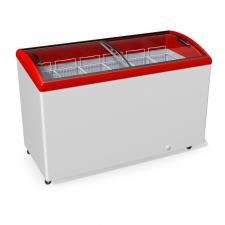 Морозильна скриня з гнутим склом JUKA M500S