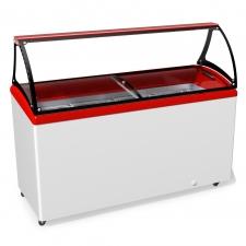 Морозильна вітрина для продажу вагового морозива JUKA M600SL